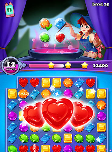 Gems witch: Magical jewels screenshot 3