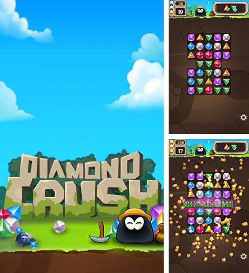 En plus du jeu Fruits succulents de gelée: Explosion pour téléphones et tablettes Android, vous pouvez aussi télécharger gratuitement Explosion des bijoux: Destruction des diamants, Gemstone flash: Diamond crush.
