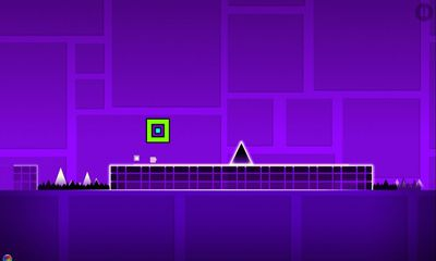 Screenshots of the Geometry Dash v2.10.0 for Android tablet, phone.
