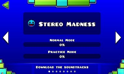 Download Geometry Dash v2.10.0 Android free game.
