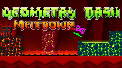 Geometry dash: Meltdown обложка