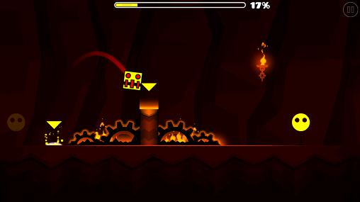 Geometry dash: Meltdown скриншот 2
