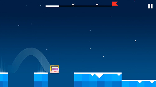 Geometry hell: Dash and jump on the beat für Android spielen. Spiel Geometrische Hölle: Springe zum Beat kostenloser Download.