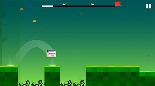 Screenshots von Geometry hell: Dash and jump on the beat für Android-Tablet, Smartphone.
