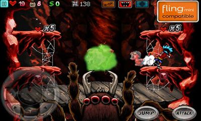 Download Ghost Ninja: Zombie Beatdown Android free game.