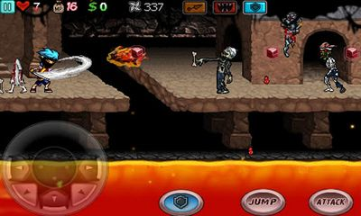 Screenshots of the Ghost Ninja: Zombie Beatdown for Android tablet, phone.