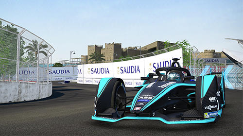 Screenshots von Ghost racing: Formula E für Android-Tablet, Smartphone.