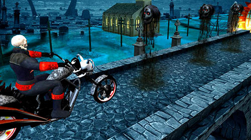 Ghost riding 3D screenshot 1