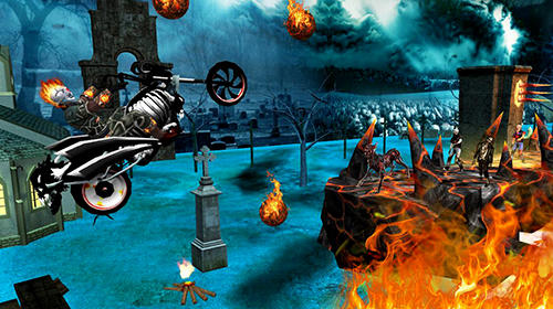 Ghost riding 3D screenshot 2