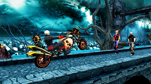 Ghost riding 3D screenshot 5