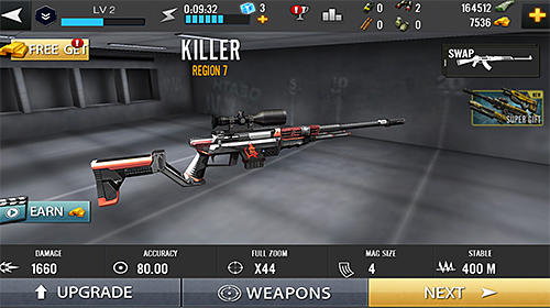 Ghost sniper shooter: Contract killer screenshot 1