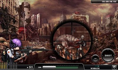 Screenshots von Ghost Sniper:  Zombie für Android-Tablet, Smartphone.