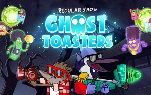Ghost toasters: Regular show poster