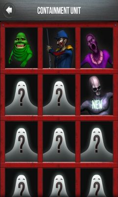Screenshots of the Ghostbusters Paranormal Blast for Android tablet, phone.