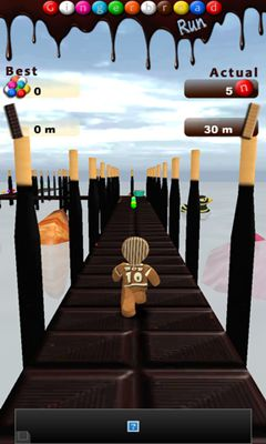 Jogue Gingerbread Run para Android. Jogo Gingerbread Run para download gratuito.