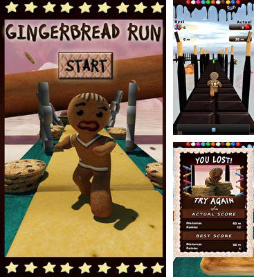 In addition to the game Neon Zone for Android phones and tablets, you can also download Gingerbread Run for free.
