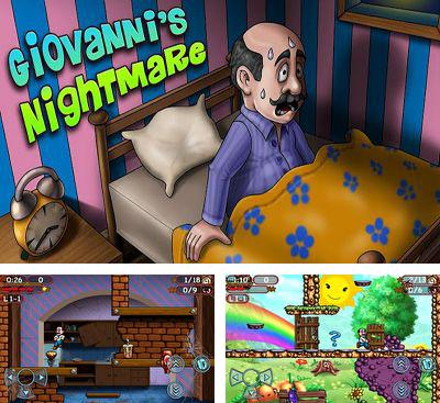 In addition to the game Tiki Towers 2 Monkey Republic for Android phones and tablets, you can also download Giovanni's Nightmare for free.