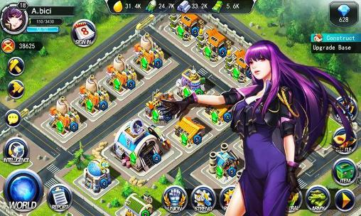 Download Girls of war Android free game.