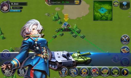 Screenshots of the Girls of war for Android tablet, phone.