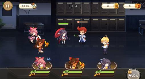 Screenshots von Girls X: Battle für Android-Tablet, Smartphone.