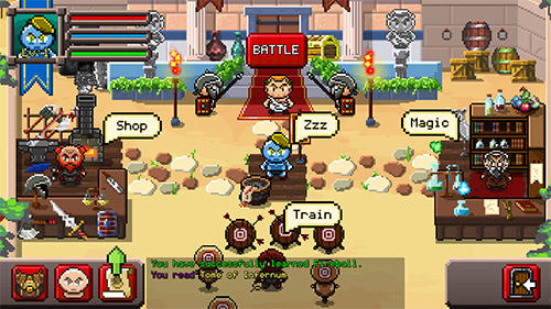 Screenshots do Gladiator rising: Roguelike RPG - Perigoso para tablet e celular Android.