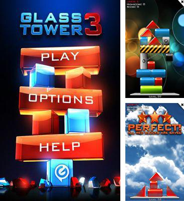 In addition to the game Running Rico Alien vs Zombies for Android phones and tablets, you can also download Glass Tower 3 for free.
