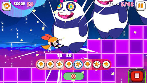 Screenshots von Glitch fixers: Powerpuff girls für Android-Tablet, Smartphone.