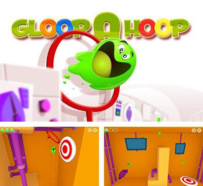 In addition to the game Smooth 3D for Android phones and tablets, you can also download Gloop a Hoop for free.
