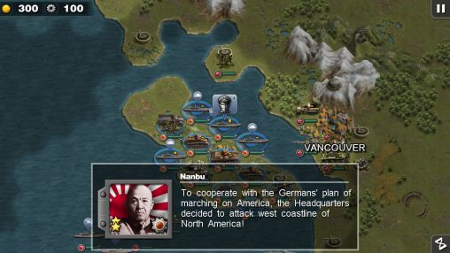 Glory of generals: Pacific HD screenshot 1