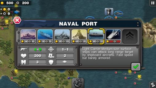 Glory of generals: Pacific HD screenshot 3