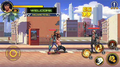 Glory samurai: Street fighting скриншот 2