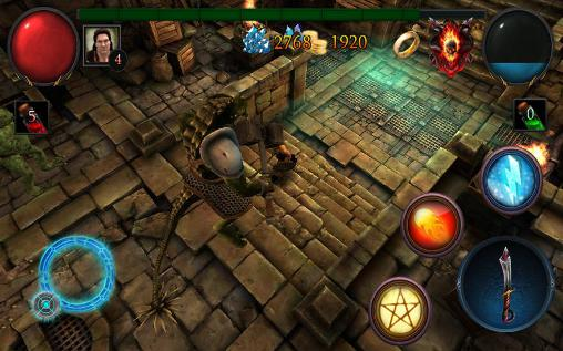 Download Glory warrior: Lord of darkness Android free game.