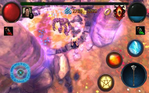 Screenshots of the Glory warrior: Lord of darkness for Android tablet, phone.