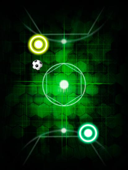 Kostenloses Android-Game Glühende Luft: Space Hockey. Vollversion der Android-apk-App Hirschjäger: Die Glow air space hockey für Tablets und Telefone.