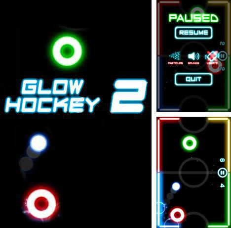 In addition to the game Glow Hockey 3D for Android phones and tablets, you can also download Glow hockey 2 for free.