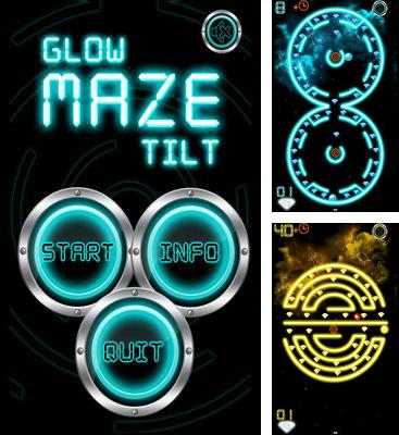 In addition to the game Frozzd for Android phones and tablets, you can also download Glow Maze Tilt for free.