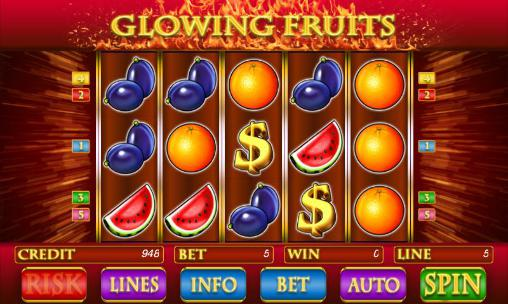 Glowing fruits slot screenshot 3