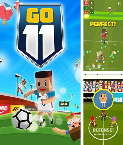 In addition to the game Retro soccer: Arcade football game for Android phones and tablets, you can also download Go 11: Fantastic football for free.