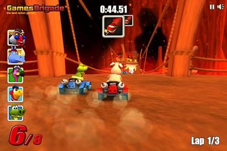Screenshots von Go kart go! Ultra! für Android-Tablet, Smartphone.