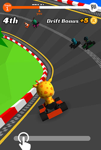 Go kart run screenshot 1