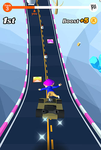 Go kart run screenshot 2