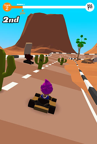 Go kart run screenshot 3