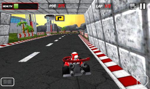 Screenshots von Go karts 3D für Android-Tablet, Smartphone.