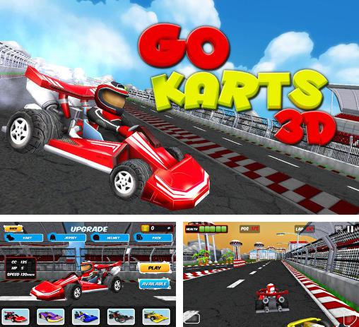 In addition to the game Championship Karting 2012 for Android phones and tablets, you can also download Go karts 3D for free.