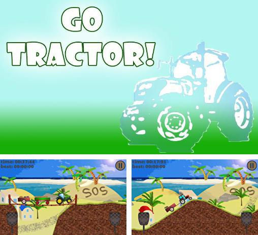 In addition to the game Car transporter for Android phones and tablets, you can also download Go tractor! for free.
