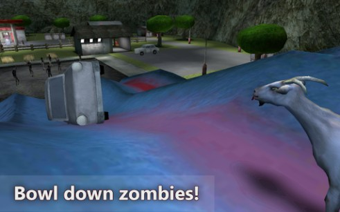 Screenshots von Goat vs zombies simulator für Android-Tablet, Smartphone.