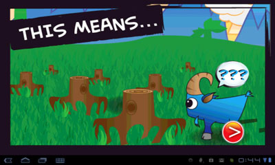 Download Goats in Trees Android free game.