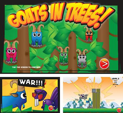 In addition to the game Save Toshi HD for Android phones and tablets, you can also download Goats in Trees for free.