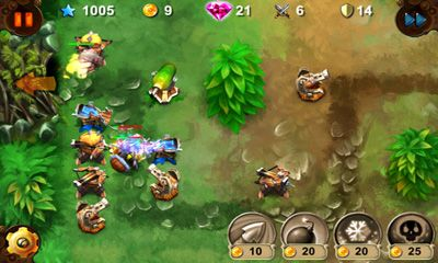 Goblin Defenders Steel'n'Wood screenshot 2