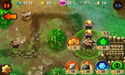 Screenshots von Goblin Defenders Steel'n'Wood für Android-Tablet, Smartphone.